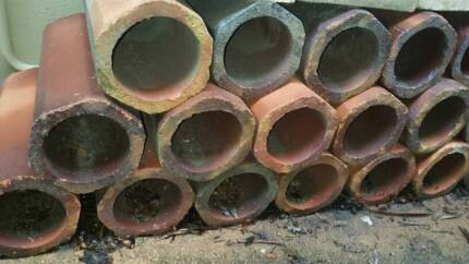 Terracotta Pipes Hexagonal - Fishpond Use or Wine Storage Phillip Bay Eastern Suburbs Preview