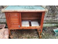 Guinea Pig Hutch + accessories