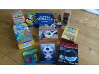 Bundle of 9 kids toys and games. Most brand new / unopened.