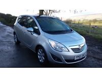 2011 Meriva SE (top spec). Very low mileage. Long MOT. Panoramic roof.