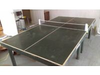 Dunlop Barna - solid wood table tennis table. Free for first person who can collect