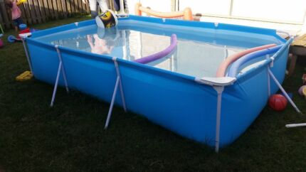 clark rubber swimming pool above ground fibreglass above ground swimming pool long wide