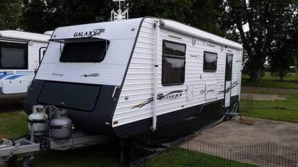 2013 Galaxy Odyssey ensuite caravan 22 foot 7 inch.