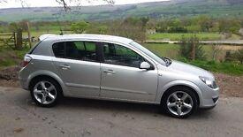 Silver Astra sri 1.8 petrol. 13 months MOT. Great car.