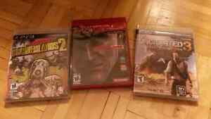 Jeux PS3 MetalGearSolid4, Uncharted3