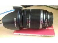 Canon EFS 18-200mm Lens with Hood