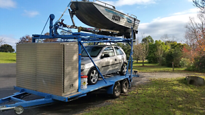 Motorhome car/boat trailer Silverdale Wollondilly Area Preview