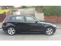 BMW 1series black