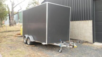 Enclosed tandem trailer toy hauler pantech East Bendigo Bendigo City Preview
