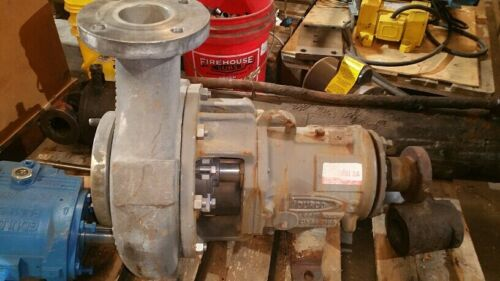 Durco / Flowserve - MK3 Pump - 4x3x13 Used - ansi 3A-alloy A494 USED 60-70% NI