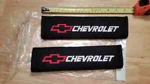 Chevrolet Seat Belt Cover Cushion Strap Chevy Racing