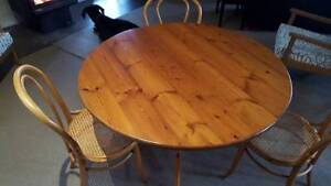 Baltic Pine Table and Chairs Darlington Mundaring Area Preview