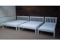 New solid beds double, kingsize. Closing down sale. Free delivery in Bristol