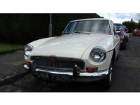 1973 MG BGT Original Chrome Bumper Beautiful Car