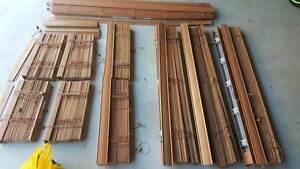 Timber blinds - mutliple sets Carseldine Brisbane North East Preview