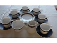 Wedgewood Royal Tuscan bone china dinner and tea service - pattern: Cascade