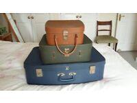 Vintage Suitcases 1960's