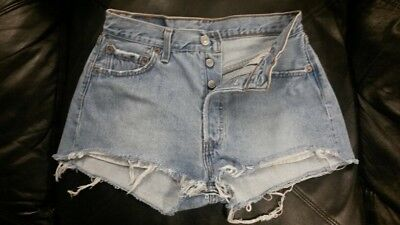 "Vintage Levi's 501 High Waist Shorts ""Mom Jeans"" Size 00 0 2 6 10 12 14 16"