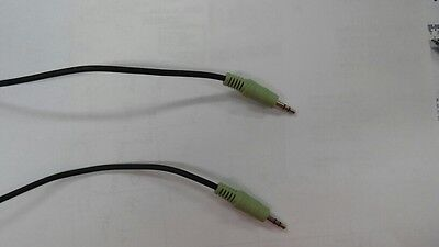 5ft 3.5mm Auxillary Lot of 20 Male to Male Stereo Audio Cables for PC iPod MP3 ()