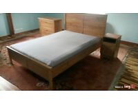 IKEA Aspelund double bed fit mattress 140x200cm Very good condition