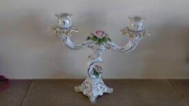 Porcelain Candelabra - Kaiser West Germany
