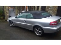 Convertible, automatic Volvo C70. Long MOT. Good condition.