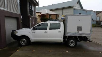 REFRIGERATED UTE TRUCK DUAL CAB TOYOTA HILUX 3L DIESEL Milton Shoalhaven Area Preview