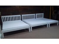 New solid beds double, kingsize. Closing down sale. Free delivery in Exeter