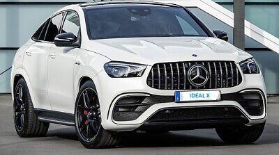 für Mercedes GT LOOK Grill GLE W167 V167 C167 AMG Chrom Panamericano Kühlergrill