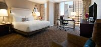 Weekend stay for 2 at Fairmont Dallas including breakfast 350$