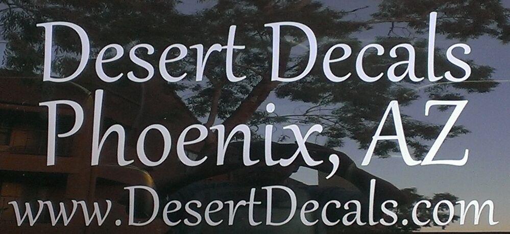 Desert Decals