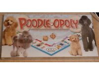 POODLE-OPOLY BOARD GAME