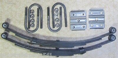 3500 # axle suspension kit. Incl. (2) 1750 lb springs and u-bolt kit ( trailer )