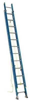 Werner D6024-2 Extension Ladder Fiberglass 24 Ft. Type I