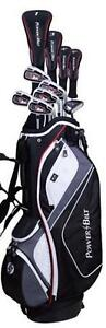 PowerBilt Men's TRX Package Golf Set Brand New Retail Price 299.95  Left-Handed