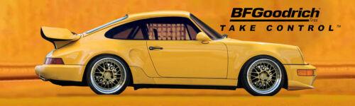 "REPRODUCTION 1991 Porsche 911 BF Goodrich Banner 21""x72"""