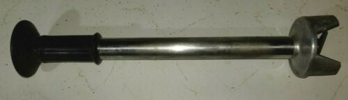 """Stainless Steel Stick Immersion Blender Shaft Attachment 18"""" Long Commercial"""
