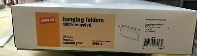 Staples Hanging File Folders 566913 Legal Size