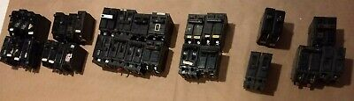 Lot Of 35 Breakers Challenger Ite Gte Others 20 30 40 50 Amp Guaranteed.