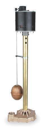 DAYTON 4KU63 Pump,Sump,0.50 HP