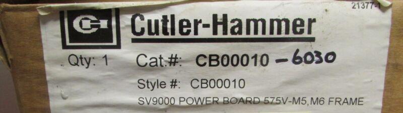 Eaton Cutler Hammer CB00010 6030 SV9000 25-30 HP Drive Power Control Board