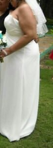 Downsouth Wedding dress with vail