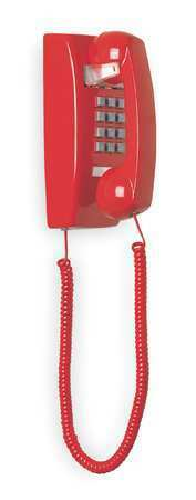 Cetis 2554E (Red) Standard Wall Phone, Red