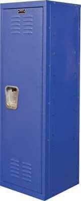 Hallowell Hkl151548-1gs Kid Lockerblue15in W X 15in D X 48in H