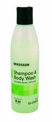 shampoo and body wash w aloe