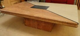 Marble Coffee Table, (Real Marble) PRICE REDUCED NOW £395