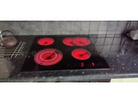Built in Belling Synergie dual oven & Electrolux Hob