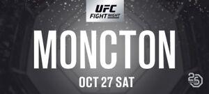 UFC Moncton Ticket