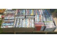 150 DVDS JOB LOT. MOVIES, BLU RAYs AND SERIES