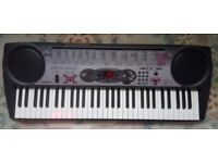 Casio Keyboard AS NEW BOXED with Stand 61 full size keys £70